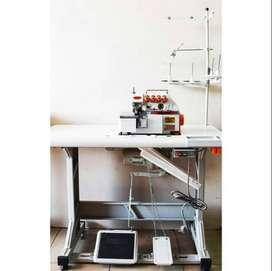 mesin obras industry/ konfeksi merk shimaru 4 benang