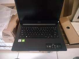Laptop gaming i5 10th /4GB / VGA nvidia mx350 2GB garansi 1tahun