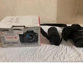 CANON 1300D ( COMPLETE BOX ) WITH AN EXTRA 55 - 250 EFS LENS