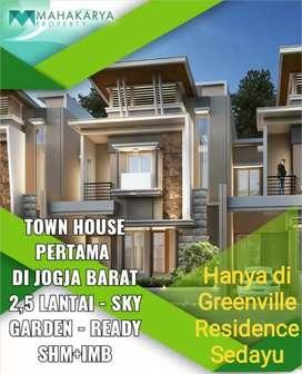 PROMO MURAH Rumah 2,5 lantai di sedayu Jl Wates yogyakarta