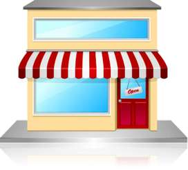 Shop at canal road with 320 sq ft area