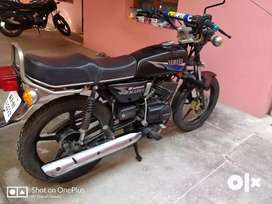 Yamaha rx 135 5 speed completely modified in mint condition