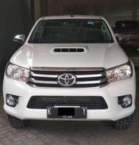 Dijual Toyota Hilux Double Cabin Type G Tahun 2017