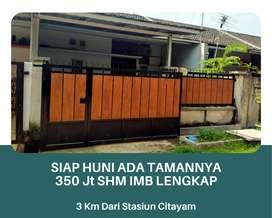 Siap Huni SHM IMB Lengkap Bisa KPR Bank Syariah Lokasi Nanggerang