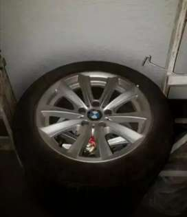 Bmw f10 520d original wheels and tyres