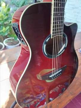 Gitar yamaha apx 500II likenew ganemu cacat