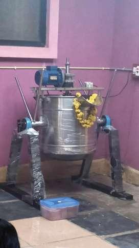 Cooking machine, pulper machine, new unused total Unit