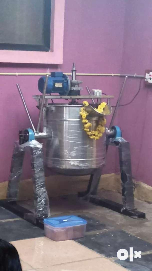 Cooking machine, pulper machine, new unused total Unit 0