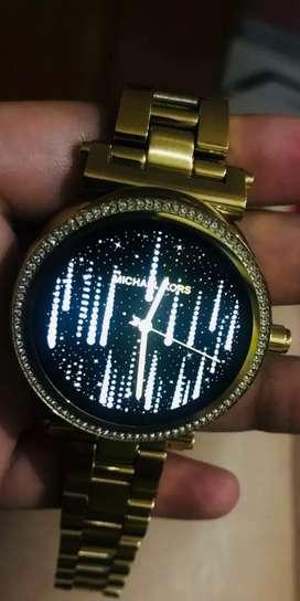 Michael Kors Gold Smart Watch