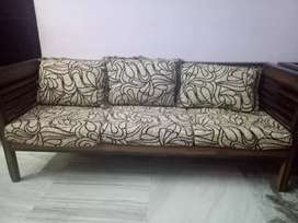 Sofs set of sagwaan wood