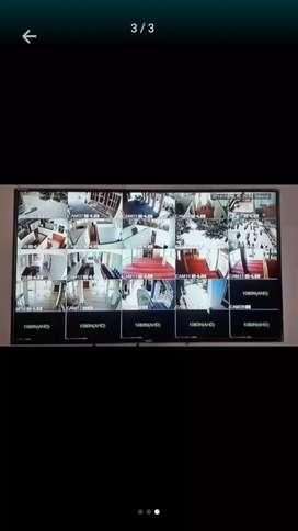 Paket lengkap pasang paket kamera CCTV Fullsett/free pasang