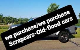 Scrap Cars Buyer/old scrap cars we buy
