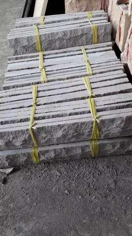 Batu alam dinding Susun sirih andesit