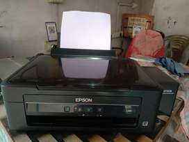 Epson L380 color printer fully in condition