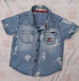 Kemeja jeans JSP