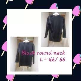 Buy1 Get1 Kaos Lengan Panjang Black Fleece - Sweatshirt
