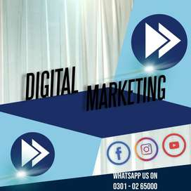 We grant male s& females an online Digital marketing job by laptop