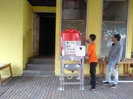 Wastafel Portable Lengkap Dengan Toren Air 300 Liter BELI 10 GRATIS 1