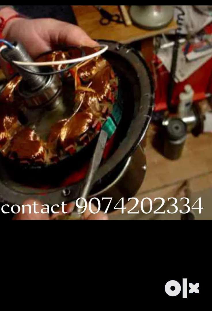 Electric work contact