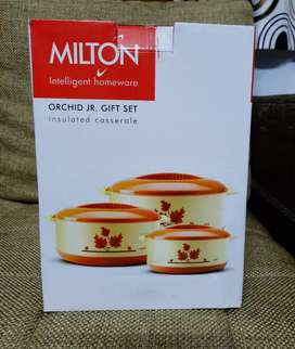 New Milton orchid Casseroles combo-3 piece -great offer