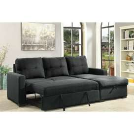 Pull out sofa come bed storage tanveer furniture brand new sofa set
