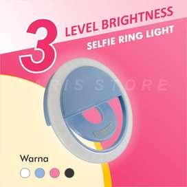 Selfie Ring Light LED Rechargeable