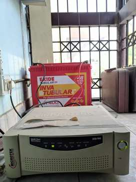 Home inverter and tubular battery