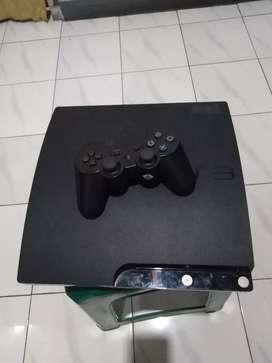 PS 3 slim 120gb bonus stik wireless