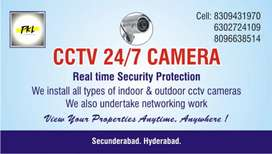 CCTV 24/7 Camera installation and service