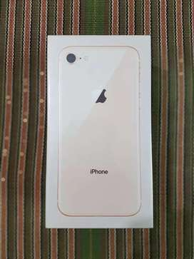 New box pack iphone 8 64gb with seller warranty