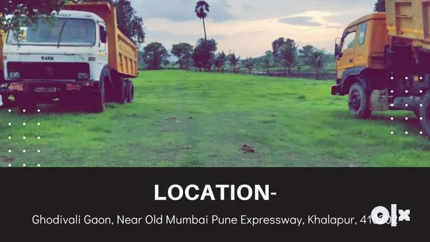 1.5 acre cleartitle land for sale in khalapur Khopoli