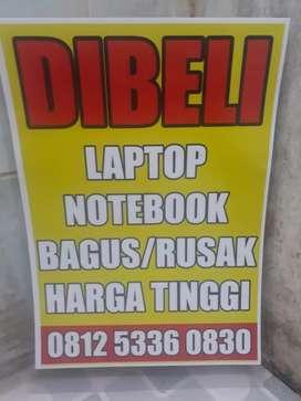 Dibeli Laptop bekas pakai