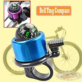 Bell / Lonceng Sepeda Plus Kompas