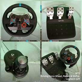 Driving Force Logitech G29 + Shifter