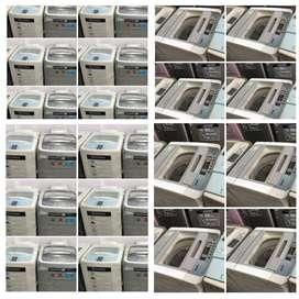 Warranty 5 year /LG, Samsung fully automatic washing machine available