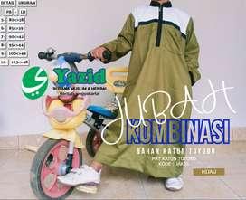 jubah / gamis / sirwal merk yazid collection