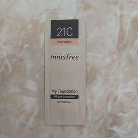 Innisfree my foundation all day longwear sample