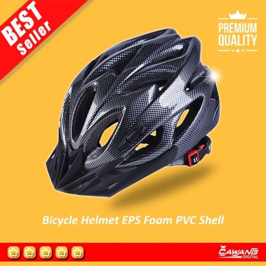 Helm Sepeda Bahan PVC EPS Foam Ringan