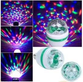 Lampu bohlam disco LED warna berputar
