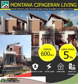 2 Lantai Baru murah Rumah Cimahi Cipageran dkat Bandung Tol Padalarang
