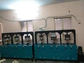 Areca plate manufacturing machine
