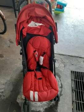 Stroller kondisi like new merk easywalker minicooper