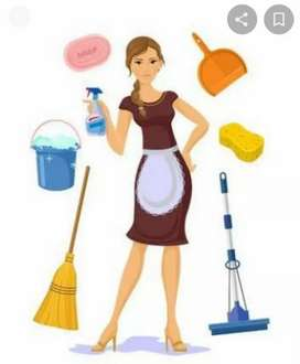 Urgent opeing for house keeping