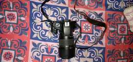 Canon Camera 550d for sale with lense 70-300temron