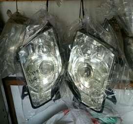 Headlamp lampu depan pajero 2008