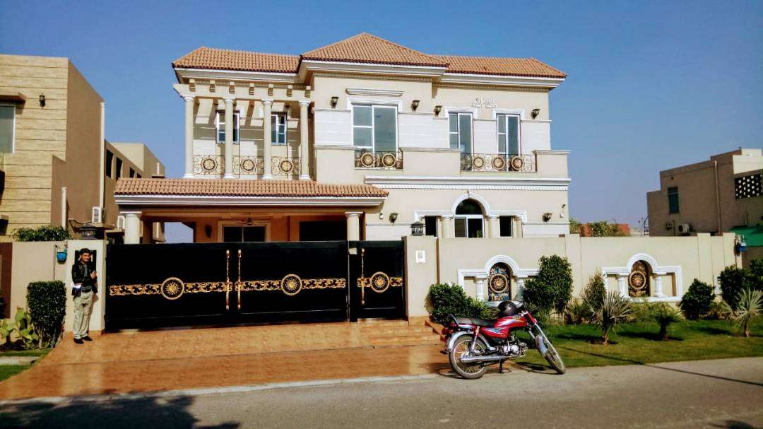 1-Kanal Most beautiful full Basement Spanish Bungalow For Sale at DHA