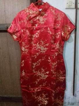 Preloved baju cheongsam