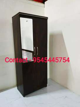 Sell Brand New 2 Door Wardrobe (Finish Colour - Jungle Wood Brown)