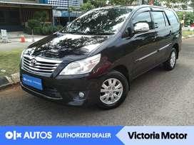 [OLX Autos] Toyota Kijang Innova 2.0 G Bensin A/T 2012 Hitam
