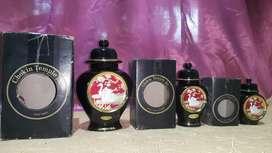 Guci Jepang Chokin Temple Jar (1 set)